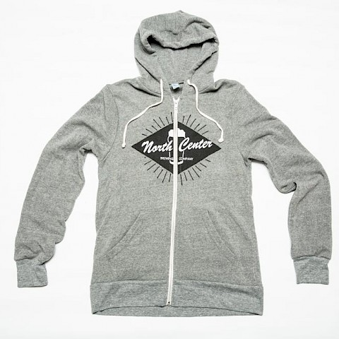 North Center Brewing Co. Zippie Hoodie